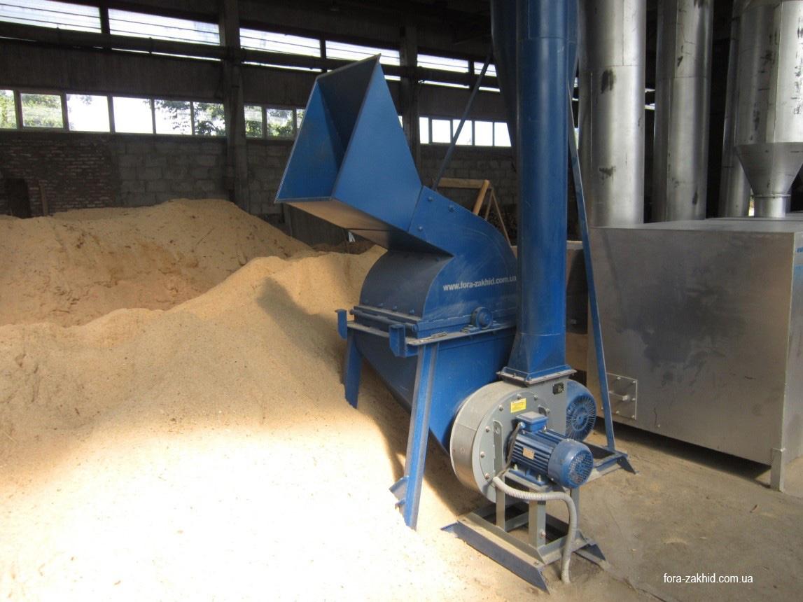 Дробилка для песка мелкой фракции